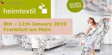 Bornewa geri dönüşüm iplik markamızla 08-11 Ocak 2019 tarihlerinde HEIMTEXTIL Frankfurt Fuarında salon 4.2-B69 nolu stanttayız.