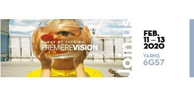Bornewa geri dönüşüm iplik markamızla 11-13 Şubat 2020 tarihlerinde PREMIER VISION PARIS fuarında 6G57 nolu stanttayız.