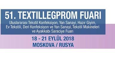 Bornewa markamızla 18-21 Eylül 2018 tarihinde TEXTILLEGPROM Moskova fuarındayız