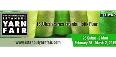 Bornewa markamızla 28 Şubat-2 Mart 2019 tarihinde 16. Uluslararası İstanbul İplik Fuarında 6.Salon-617/A nolu standdayız.