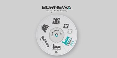 Bornewa marka rejenere (geri dönüşüm) elyaf ve iplik üretimimiz, iplikteki yirmi beş yıllık ELSE tecrübesi ile başladı